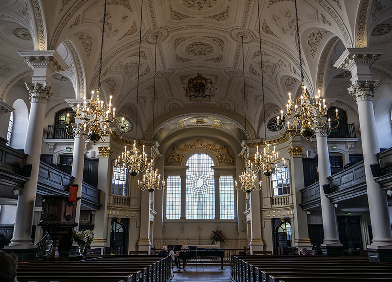 St Martins-in-the-Fields, London