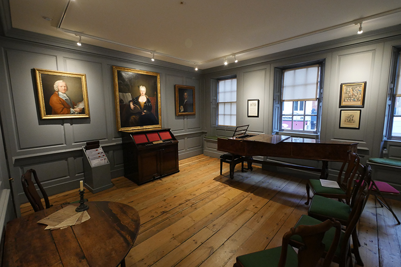 Music Room at Handel House, London