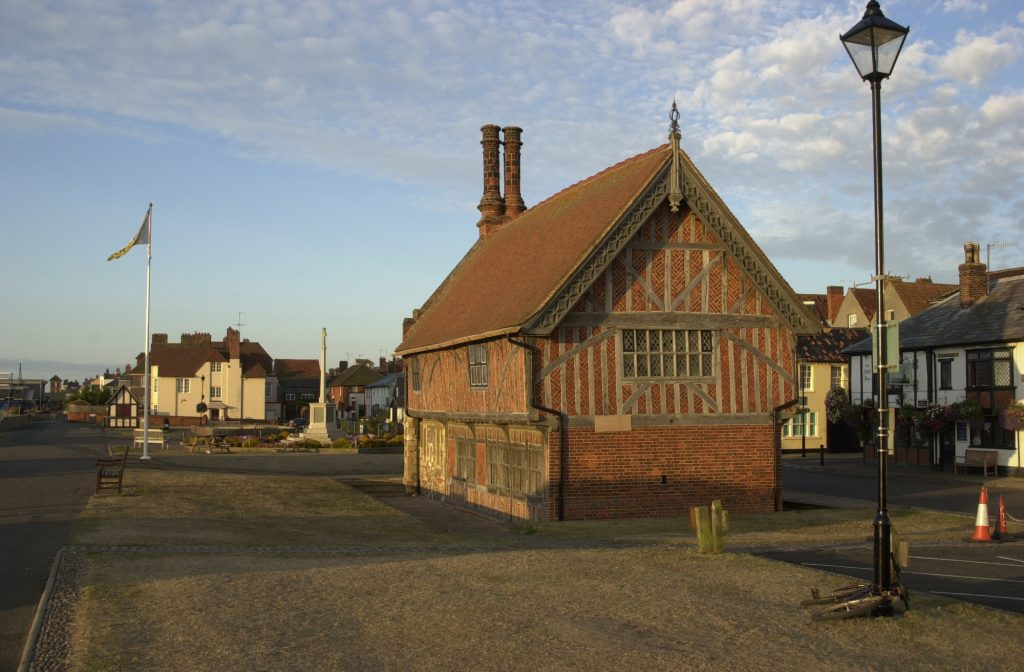 Discovering Benjamin Britten's Aldeburgh, The Moot Hall