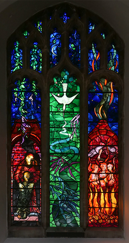 Benjamin Britten memorial window, Aldeburgh