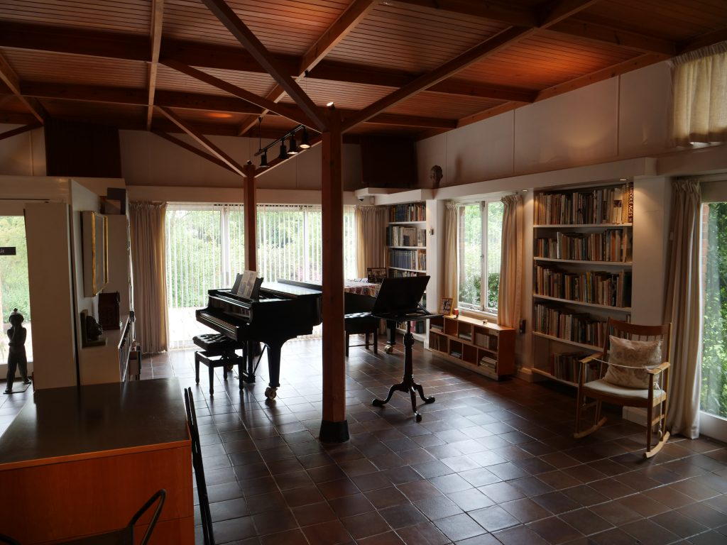 Benjamin Britten's library, The Red House