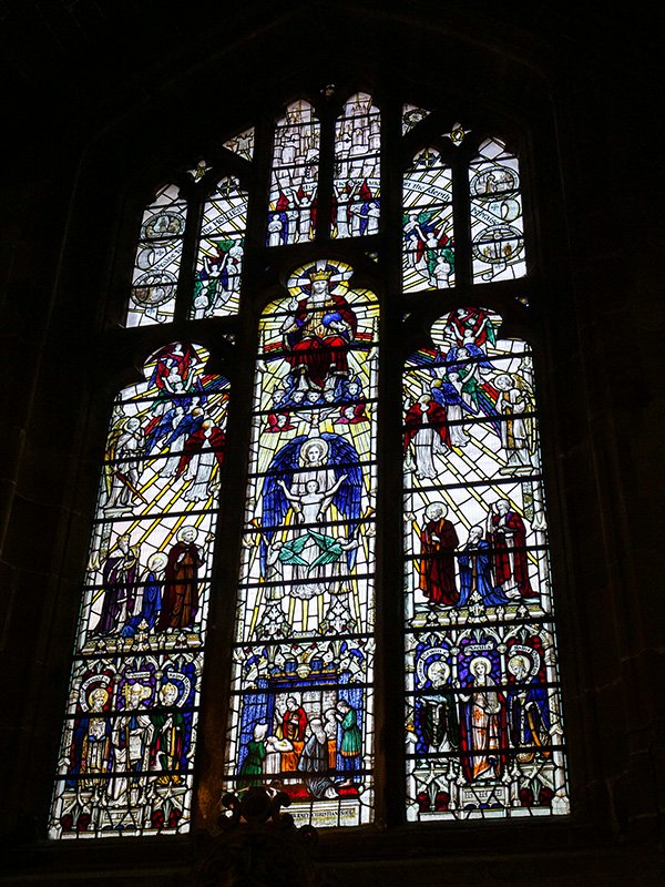 The Elgar window, Worcester Cathedral