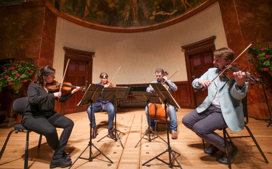The Skampa Quartet at The Wigmore Hall, London