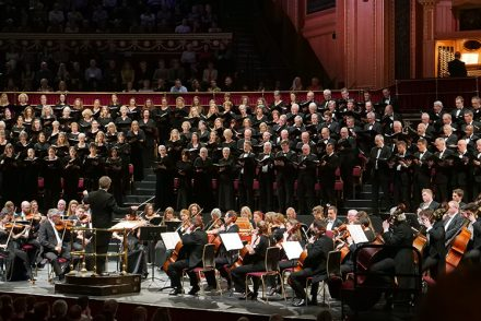 Royal Choral Society at Royal Albert Hall
